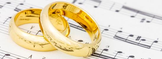 Nejoblíbenější svatební skladby